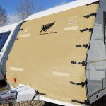 Caravan Towing Front Protector Panel - width-2-40m-height-2-05m